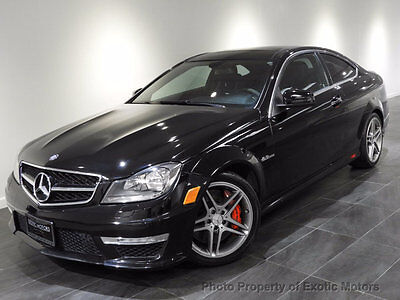 2012 Mercedes-Benz C-Class C63 AMG Coupe 2012 MERCEDES C63 AMG COUPE NAV REAR-CAMERA AMG-DEVELOPMENT/MULTIMEDIA MSRP$76k