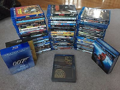 91 Blu-ray Lot, Blockbusters, some NEW SEALED with DVDs, Digital Copies