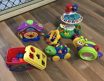 Fisher Price Box Of Toys