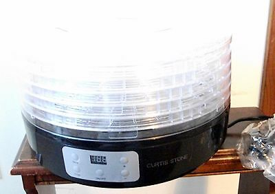 Food Dehydrator by Curtis Stone 260-Watt Electric Professional Grade with 5Trays