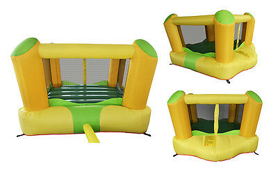 Mighty Bounce Play House Yellow Moonwalk Jump Castle Toddler Inflatable Jumper 4