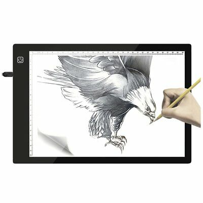 Flicker-free Drawing Copy Tracing Stencil Board Table Pad with USB & Scale YT