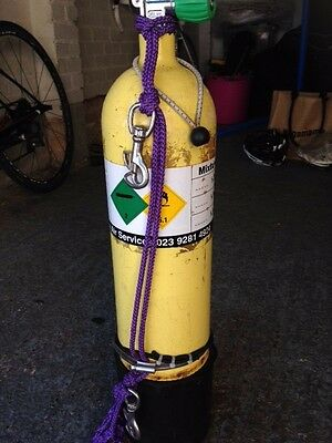 Dive cylinder 7L out of test