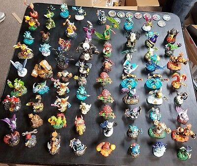 Skylanders Lot 70+ Figurines 100 Pieces Total Wholesale Lot Free Shipping