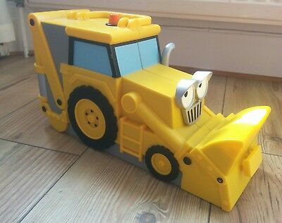 Bob The Builder Scoop Large Carry Case For Diecast Vehicles - Great Con!!