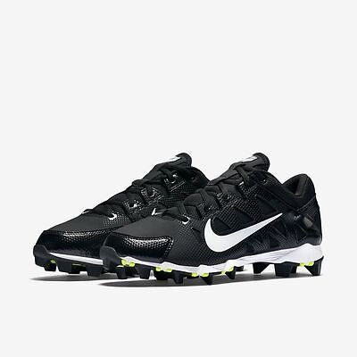 Nike 684680-010 Hyperdiamond Keystone Low Molded SOFTBALL CLEATS Womens Sz 7.5