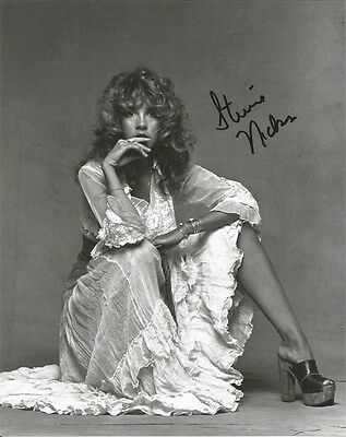 STEVIE NICKS  SIGNED FLEETWOOD MAC BAND CONCERT GLOSSY 8x10 PHOTO RP WOW!