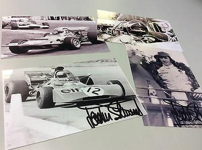 4 x.  JACKIE  STEWART   7.1/2 x 5 . FORMULA  ONE.   PHOTOS