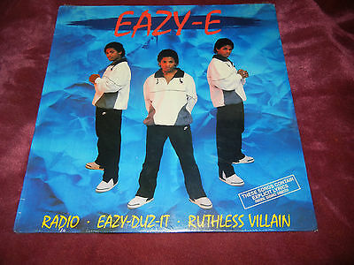 Eazy-E Eazy-Duz-It MINT SEALED VINYL RARE Record RUTHLESS VILLAIN LP EAZY E NWA