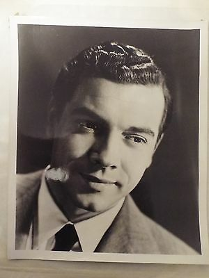 "1940`s - 1950`s Film Stars 8"" x 10"" Larger Mario Lanza Black & White Photograph"