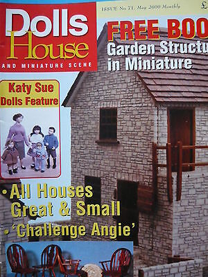 Dolls House And Miniature Scene Magazine Issue 71 - (School Projects)