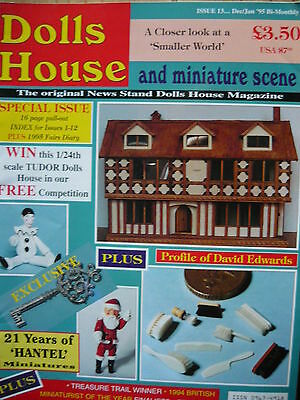 Dolls House And Miniature Scene Magazine Issue 13 - Fireplaces & Chimneys