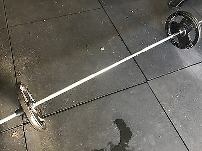 Standard Barbell With 30kg Weights (2X15kg)
