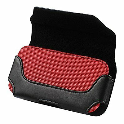 REIKO LEATHER HORIZONTAL POUCH IPHONE 6, 6S, 7 PLUS Red INTERIOR 6.62X3.46X0.68