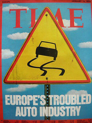 Time Magazine Jan 12Th 1976 - Europe's Troubled Auto Industry
