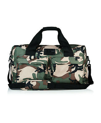 New Mens Superdry Xl Silicone Montana Holdall Green Camo