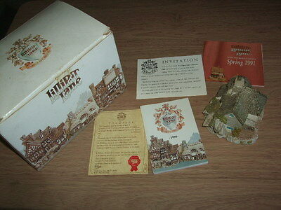 Moonlight Cove Lilliput Lane Boxed With Deeds & Booklets