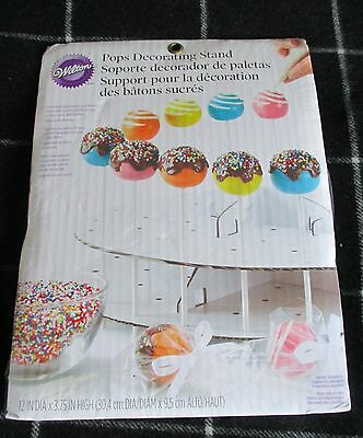Wilton cake pops decorating cake stand