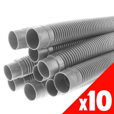 Pool Hose Barfell 1m Long 38mm Grey Newline Pool Spa 10 Pack
