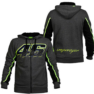 Valentino Rossi Vr 46 Motogp Mens No 46 Hoodie Jumper Sizes S M L Xl 2Xl