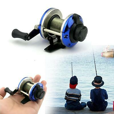 3.6:1 Metal Spinning Fishing Reel Peche Fish Wheel Spinning Fish Tackle Blue DC