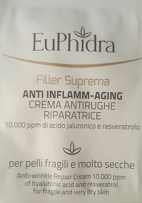 EUPHIDRA FILLER SUPREMA CREMA ANTIRUGHE RIPARATRICE 80 ml - SUPER COLLECTION!!!