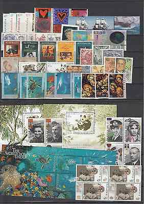 1995 year collection.of 54 stamps plus 3 x miniature sheets. MNH and cheap