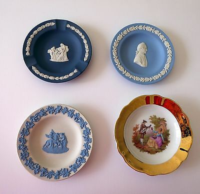 Bulk lot vintage Wedgwood and Limoges pin dishes