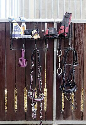 Wall Basket All-round for Hanging Hook Snaffle holder Horse box Stable lane