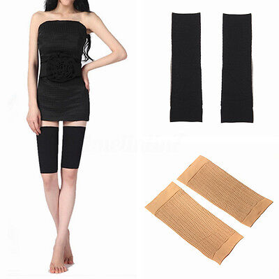 UK Slimming Weight Loss Leg Shaper Cellulite Fat Burner Thin Wrap Belt Band HOT