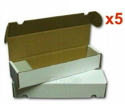 Sport Images 800 Count Cardboard Trading Cards Storage Box MTG Yugioh Pokemon x5