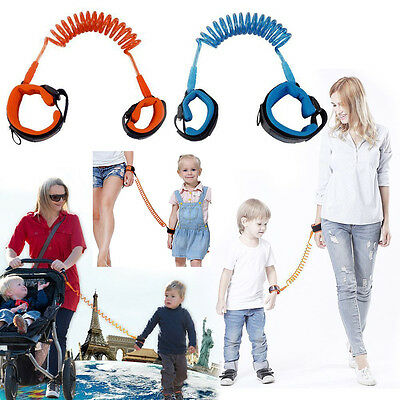 Kid Baby Toddler Safety Anti-lost Strap Link Harness Wrist Band Belt Reins New