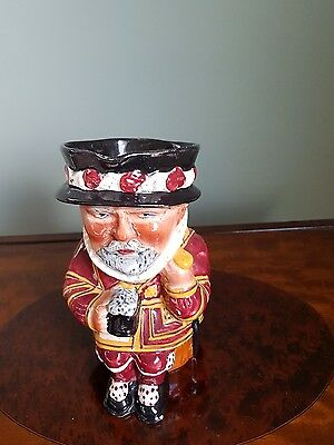 Shorter Beefeater toby jug