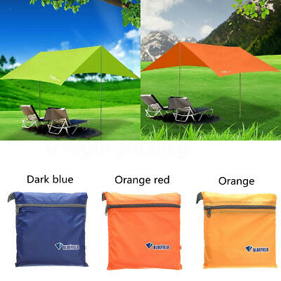 Waterproof Camping Shelter Sunshade Rain Canopy Ourtdoor Hiking Beach Tent Cover