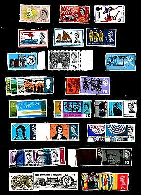 Great Britain Stamps - Pre-Decimal - All Sets are Unmounted Mint