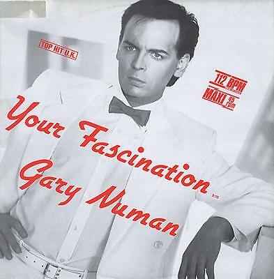"""Your Fascination - Dayglo Or... Gary Numan GER 12""""  record (Maxi)"""