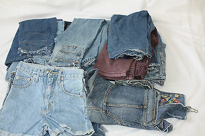 Girls Pre Worn Jeans Job Lot Age 7 Years £1.50 each