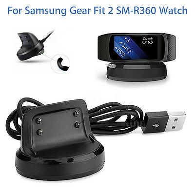 Charger Adapter For Samsung Gear Fit 2 Smart  SM-R360 Watch Dock Charging Cable