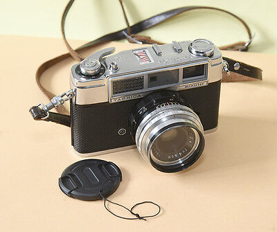 Yashica Minister.  35mm camera with working exposure meter.