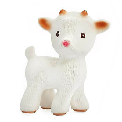 Sola the Goat TEETHING TOY -100% Pure Natural Rubber -CaaOcho Friends Collection