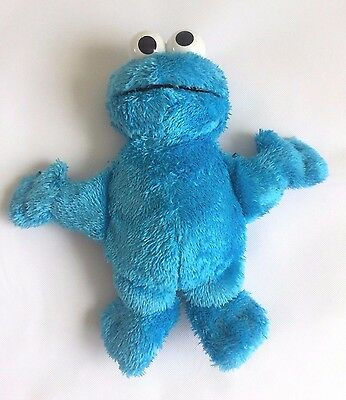 Sesame Street Cookie Monster Squeeze a Song Singing Hasbro Plush Stuffed Toy