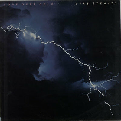 Love Over Gold Dire Straits vinyl LP album record UK 6359109 VERTIGO 1982