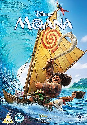 Moana [DVD] New and sealed, with free delivery.