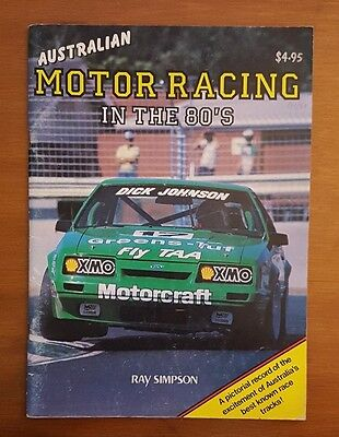 Australian Motor Racing in the 80's Brock Bowe Johnson BMW Holden Ford Oran Park