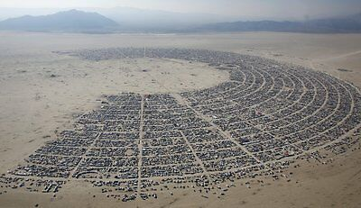 1 VEHICLE PARKING PASS TICKET ONLY 2017 Burning Man 8/27/17 Black Rock City