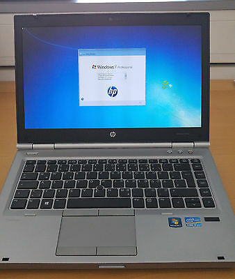 HP EliteBook 8470p - Core i7-3520M - 8GB RAM - 128GB SSD