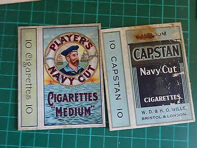 VINTAGE Collection Empty Cigarette Packets