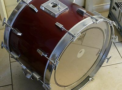 """Pair Of Vintage 70's Sonor Phonic 22"""" Chrome Bass Drum Hoops, Made In Germany!"""