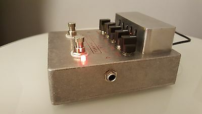 Dual Channel Tube Guitar Preamp pedal inspired by Matchless Hotbox, high voltage