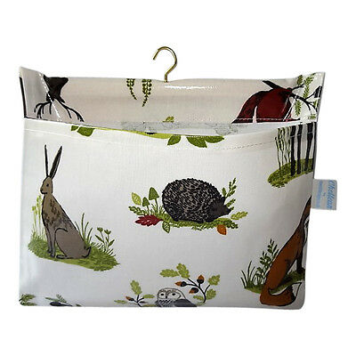 Countryside Design Oilcloth Peg Bag - Made in Great Britain